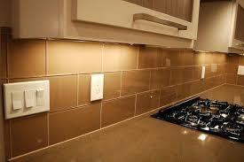 kitchen brown glass backsplash. Beautiful Brown Best Kitchen Glass Tile Brown Khaki X Subway Backsplash Sheet And H