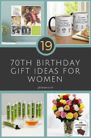 19 best 70th birthday gifts for women her mum sister aunt gifts giftideas giftforher ideas love giftsforher