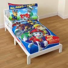 paw patrol toddler bed sheets