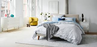 Bedroom furniture inspiration Charcoal Grey Bedroom White Airy West Elm Bedroom Inspiration West Elm