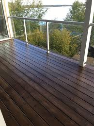 Behr Padre Brown Semitransparent Stain Two Coats Deck