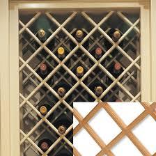 Wine Rack Lattice Insert PDF Woodworking