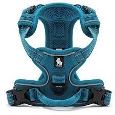Kismaple Adjustable 3M Refletive Dog Harness, Soft Padded No ...