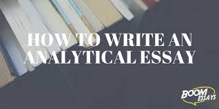 Analytical Essay How To Structure Examples Topics