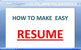 How To Make Resume Onosoft Word Prepare In Ms Mac Do I Write A On
