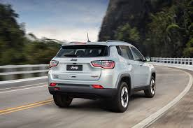 2018 jeep new compass. perfect new 2018 jeep compass trailhawk exterior rear three quarter in motion on jeep new compass