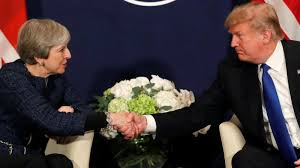 Image result for PM may/trump