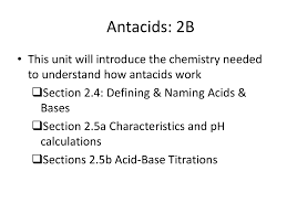 How Do Antacids Work Antacids 2b