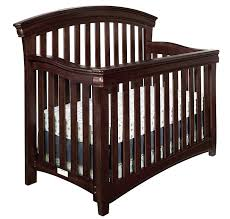 com westwood design stratton convertible crib with guard rail chocolate mist baby