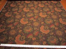 Small Picture 5 yards of rich floral upholstery fabric