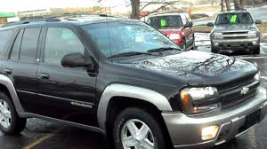 Blazer chevy blazer 2002 : 2002 Chevrolet Trailblazer LTZ, 4dr SUV, 4x4, 4.2 6cyl, Leather, P ...