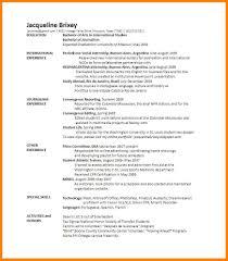 7 Double Major On Resume Precis Format