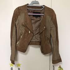camel biker jacket camel biker jacket