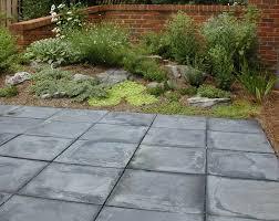 square patio designs. Square Paver Slate Patio Designs