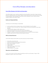 front desk supervisor job description anuvrat info 8 front desk job description invoice template