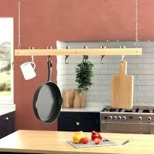 hanging pot and pan rack hanging pot and pan rack details about pots pans rack kitchen hanging pot and pan rack