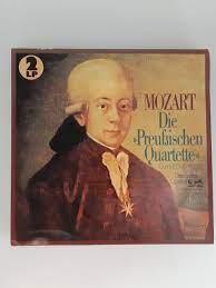 LP Schallplatte Vinyl 2 LP Mozart Die preußischen Quartette Das Suske  Quartett Eurodisc Club Sonderauflage