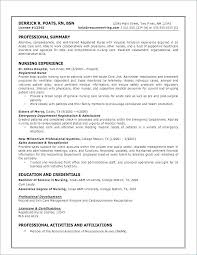 Resume Examples For Experienced Nurses With Resume Entry Level Cool Resume For Entry Level