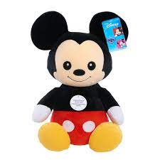 Disney Classics 14-Inch Mickey Mouse, Comfort Weighted Plush, Ages 3 + -  Walmart.com - Walmart.com