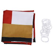 shower curtain santa belt waterproof polyester fabric shower