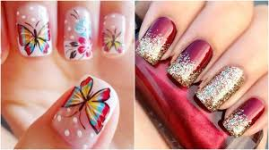Latest Nail Art Designs For Girls And Women 2017-2018 - YouTube
