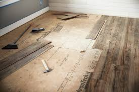 on your very last run you may need to rip each board to size do this with a circular or table saw with the final run in place use a nail