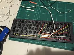 i built a keyboard from scratch Custom Mechanical Keyboard Wiring Diagram Custom Mechanical Keyboard Wiring Diagram #41 Keyboard PS 2 Pinout