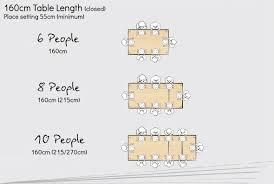 160cm long rectangular extending dining tables