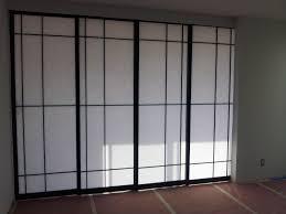 japanese shoji screens for sliding glass doors photo 3