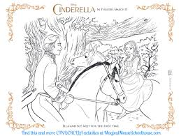 Cinderella Coloring Sheets Activity Pages
