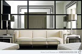 15 Fascinating And Exceptional Modern Mirror Designs  Home Design Modern Mirrors For Living Room