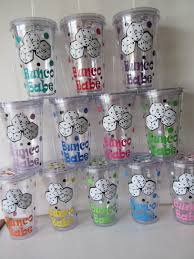 bunco acrylic tumlbers set of 12 perfect for by dotteddesigns