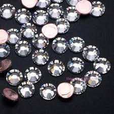 <b>Top Quality</b>! <b>Original SWA</b> Hotfix Rhinestone Clear Crystal / Crystal ...
