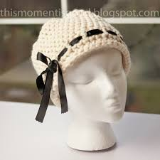 Loom Knitting Hat Patterns Enchanting LOOM KNIT ELEGANT LADIES HAT PATTERN Loom Knitting By This Moment