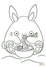 Disegno Di Coniglio Kawaii Da Colorare Disegni Da Colorare E Con