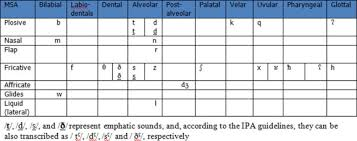 Is The Phonotactics Of The Arabic Complex Coda Sonority