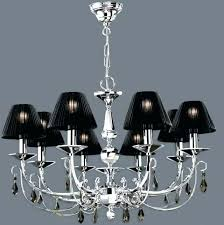 mini lamp shades for chandeliers uk chandelier with black