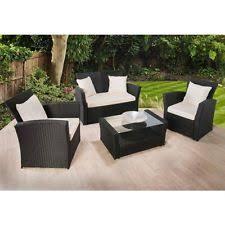 rattan garden furniture images. Exellent Images RATTAN GARDEN FURNITURE SET 4 PIECE CHAIRS SOFA TABLE OUTDOOR PATIO WICKER For Rattan Garden Furniture Images A