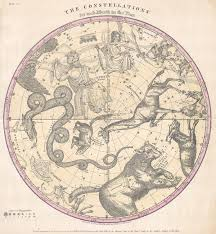The Constellations For Each Month In The Year Geographicus