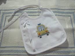 Quadros personalizados bordados a ponto cruz. Babetes Bordadas A Ponto De Cruz Bebe E Crianca Olx Portugal