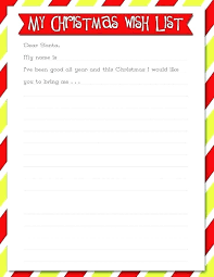 Santa List Template Letter Template 7 Download Free Documents In Word Santa