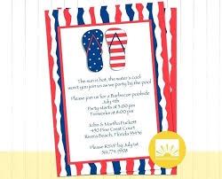 Party Borders For Invitations Patriotic Invitation One Birthday Party Invitations Front Cards