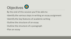 essay writing essentials margaret wilson te puna ako learning  3 objectives by the
