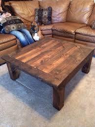 Homemade coffee table