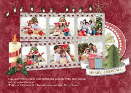 christmas card collage templates greeting card samples templates photo greeting cards picture