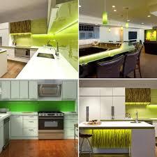 strip lighting kitchen. green led strip light kitchen set lighting