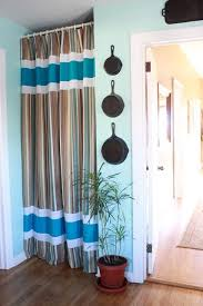 Image Hanging Curtains Pantry Curtain Instead Of Door Pinterest Pantry Curtain Instead Of Door For The Home In 2019 Curtains