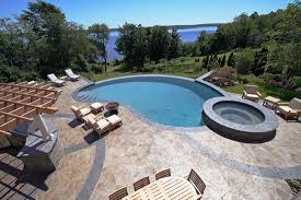 concrete pool decks. Wonderful Pool Photos Of Stamped Concrete Pool Decks New England Hardscapes  For Decks