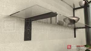 Floating Shelve Brackets Regular Shelf Bracket The Original Granite Bracket 30