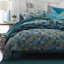 Diamond Patchwork Quilt | The Company Store & Diamond Patch Quilt / Sham Adamdwight.com